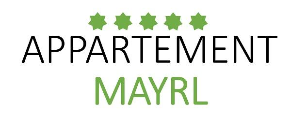 Appartement Fieberbrunn | Ferienwohnung Mayrl | Zimmer Logo
